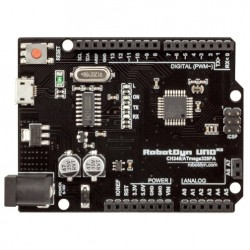 Arduino Uno R3 Black CH340 Board with MicroUSB connector