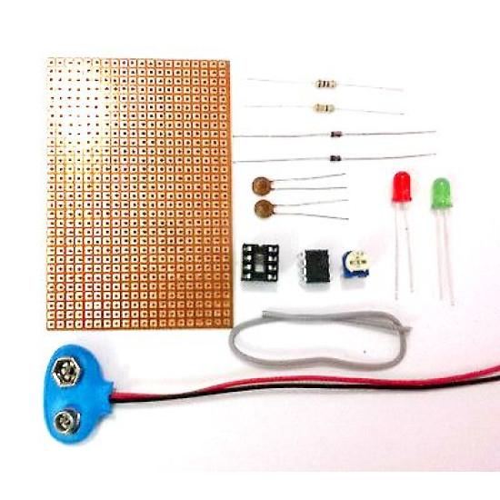 555 Timer LED Dimmer Circuit Kit