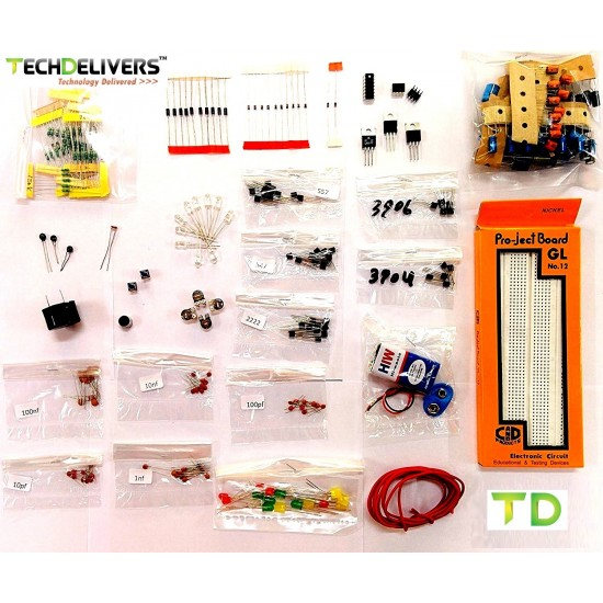 Basic Electronic Components Hobby Kit - EKIT1