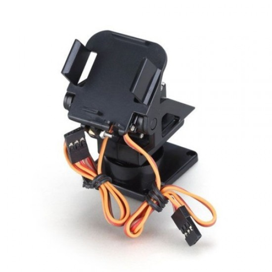 Servo bracket PT Pan - Tilt Camera Platform Anti-Vibration - Camera Mount for Aircraft FPV dedicated nylon PTZ for 9G SG90
