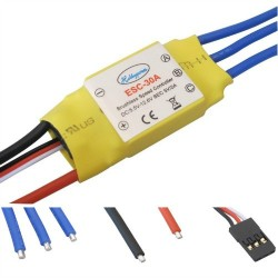 30A ESC Branded Hobbypower Brushless Speed Controller Multicopter Airplane