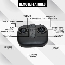 Tracker Drone With High Quality Camera With Remote Control Compatible with Android Mobile