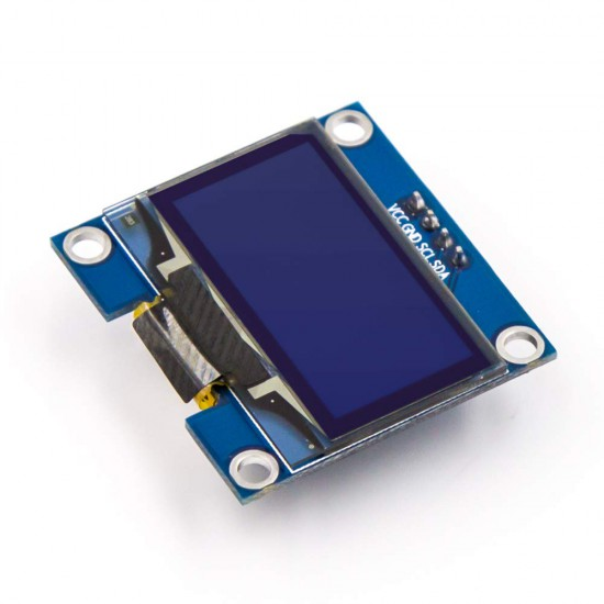 0.96 Inch I2C/IIC 4-Pin OLED Display Module WHITE