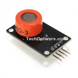 MQ-3 Alcohol sensor module - Alcohol Ethanol gas sensitive detection for projects