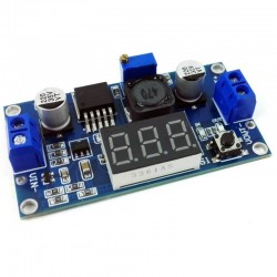 LM2596 Adjustable Step-Down Power Module with Voltage Indicator for Arduino/Rasberry Pi