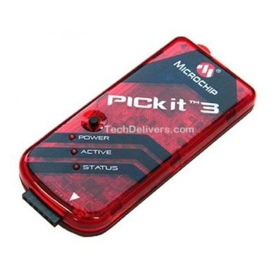USB PIC KIT-3 Debugger / Programmer MPLAB PIC® and dsPIC® microcontroller ICSP