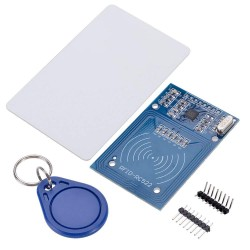 RFID Card Reader/Detector Module Kit (13.56Mhz, RC522, S50, Mifare One)