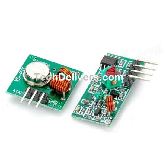 433MHz RF Wireless Receiver and Transmitter Module