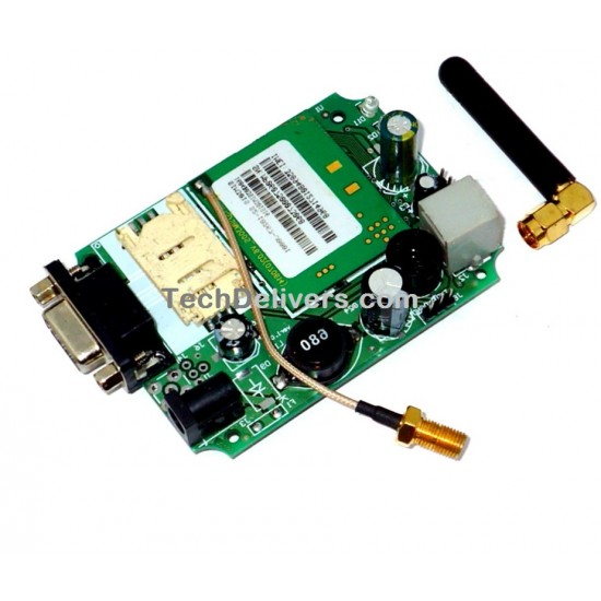SIM300 GSM/GPRS Serial Modem with RS232, TTL and Antenna