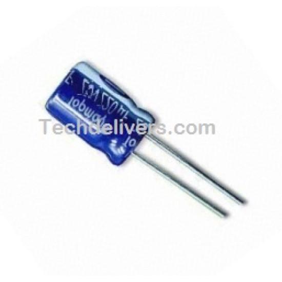 10 μF Radial Electrolytic Capacitor