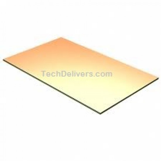 Copper Clad for PCB making - Single Sided - 6inch* 4inch - Good Quality
