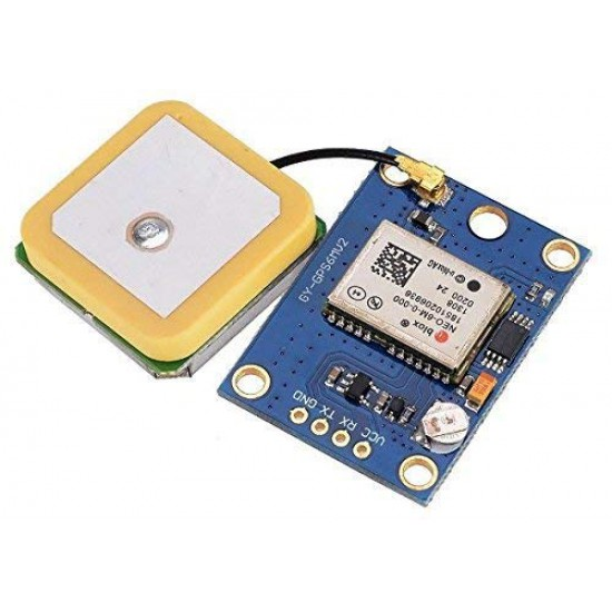 GPS module GY-NEO6MV2 with Flight Control EEPROM MWC APM2.5 large antenna