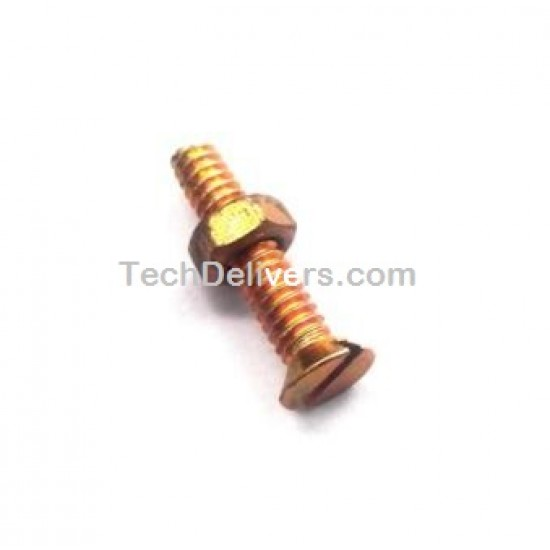 Nut with Bolt - 4mm x 25mm