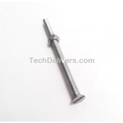 Nut with Bolt - 1/8, 2inch