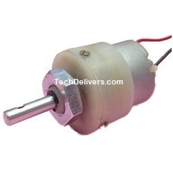 Metal Gear Motor 12V DC 300RPM with wire ready to use