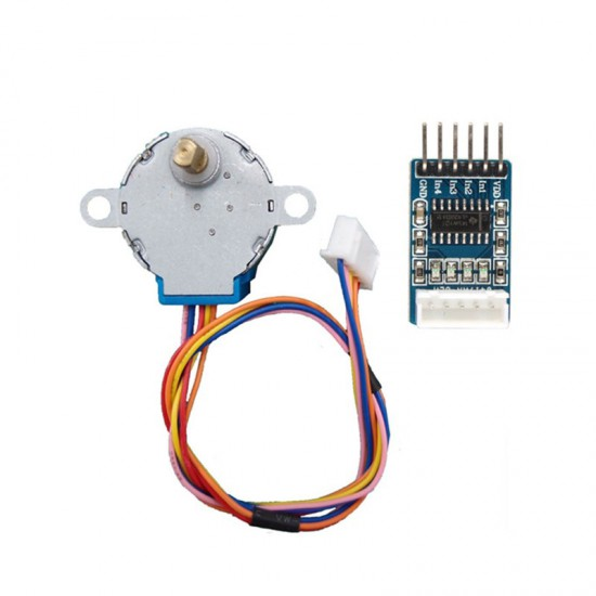28BYJ-48 Stepper Motor and ULN2003 Stepper Motor Driver – Good Quality