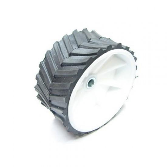 Wide-Wheel for DC Geared Motor (6mm shaft) -Dia 70mm, width 40mm